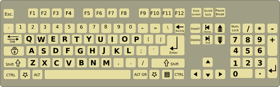 how to change qwerty to azerty
